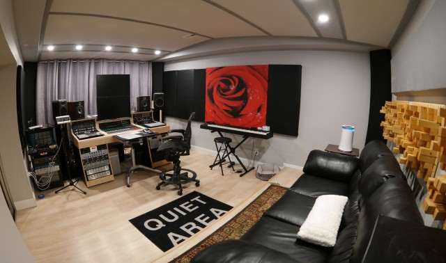 New Toft ATB16. Custom Desk and a Neve Protico II